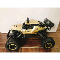 Mainan RC Mobil Rock Crawler 6298 Skala 1:12 Off Road 2.4GHz 4WD - Gold