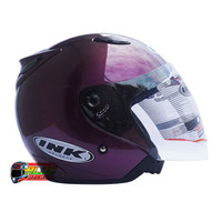 HELM INK CENTRO JET SOLID UNGU HALF FACE / JUAL CARGLOSS / KYT / JPX