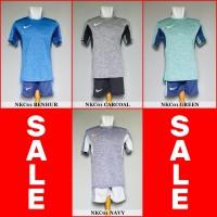 Setelan Futsal Premium Nike NKC01 (Baju Kaos Jersey Bola Sepakbola)