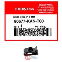 Mur Nut Clip 5 MM - klem baut batok ukuran drat baut 8 90677-KAN-T00