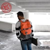 Tas ransel daily Sollu- Wanderpack SUMMIT tas untuk petualang - Merah