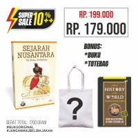 Sejarah Nusantara bonus Buku & Totebag