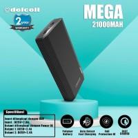 Delcell 21000mAh Powerbank MEGA Real Capacity Digital Display Polymer