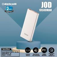 Delcell 10500mAh Powerbank JOD Real Capacity Power Delivery dan QC 3.0