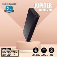 New Delcell JUPITER Powerbank 10000mAh Real Capacity Fast Charging