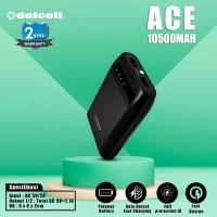 Delcell ACE Powerbank Mini 10500mAh Garansi Resmi
