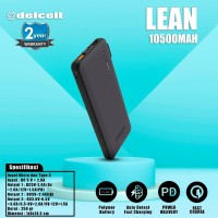 New Arrival Delcell LEAN Powerbank 10500mAh Real Capacity (38.85WH)