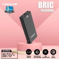Delcell 10500mAh Powerbank BRIC Real Capacity Small