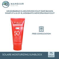 Solare SPF 50 Sunblock - Tabir Surya Melindungi dan Mencerahkan Kulit