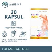 Folamil Gold - Suplemen Khusus Ibu Hamil Tinggi Akan Kandungan DHA