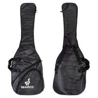 Tas Softcase Gitar Bass Elektrik BRANDOS Ransel Guitar Gigbag SCB-80