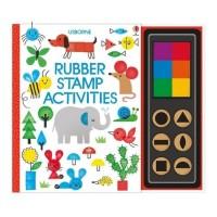 Buku Aktivitas Anak Import Usborne Rubber Stamp Activities
