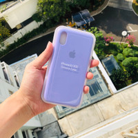 Premium Silicone Case iPhone Xr Softcase Polos Casing Soft Case