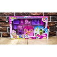 Mainan anak Rumah Little Mini House Beauty