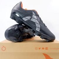 Sepatu Bola Ortuseight Raptor FG Black Silver 11010195 Original BNIB