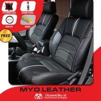 Sarung Jok Mobil Estilo Otomotifku Bahan Myo Leather Berkualitas ORI