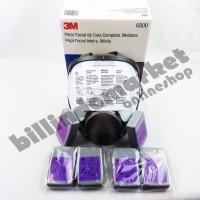 ORIGINAL 3M 6800 Fullface Piece Mask + 3 Set 3M P100 7093