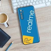 [New] Case Realme Narzo Slim Premium Material Silikon Customcase - Hitam Polos