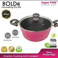 24CM BOLDE SUPER PAN CASSEROLE PANCI WAJAN FRY WOK PAN KUALI OSENG