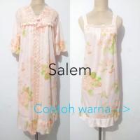 piyama baju tidur kimono dewasa cantik sexy murah - Pink