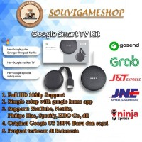 Google Smart TV Kit: Google Home Mini and Chromecast 3 BUNDLE