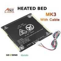 Anet A6 A8 Hotbed Heated Bed MK3 | 22 X 22 CM
