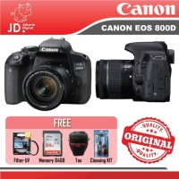 CANON EOS 800D KIT 18-55MM IS STM PAKET MEMORY 64GB