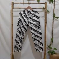 Celana Panjang Dewasa Batik Boim warna putih