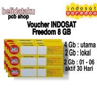 Voucher Paket Data INDOSAT FREEDOM 8 GB