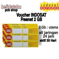 Voucher Paket Data INDOSAT FREEDOM INTERNET 2 GB