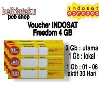 Voucher Paket Data INDOSAT FREEDOM 4 GB