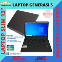 DELL LATITUDE E7450 LAPTOP CORE i7 GEN 5 RAM 8GB HDD 500GB