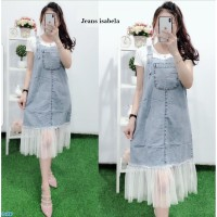 Rok Overall Jeans Denim /Dress Jeans Overall Free Inner-jeans isabel
