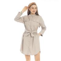 North Dress Beatrice Clothing - Shirt Dress Wanita