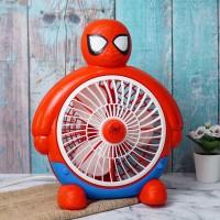 Minifan Body Superhero Spiderman Kipas Angin Kecil Karakter