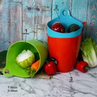 Ember / Keranjang Buah & Sayur Color Untuk Mencuci & Menyimpan Sayur