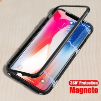 OPPO F11 CASE PREMIUM MAGNETIC Glass Casing Magnetik 2IN1