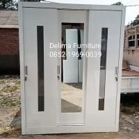 lemari pakaian 3 pintu sliding / lemari sleding /lemari duco