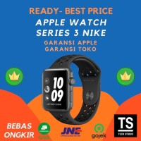 Apple Watch NIKE+ Series 3 38mm Space Grey with BLACK NIKE Band MQKY2 - GRS APPLE INTER