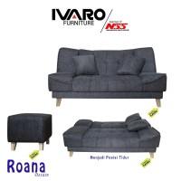 Ivaro Roana Sofa Bed Tomato