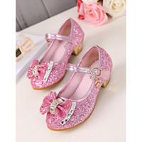 [23-30] Sepatu Heels Glitter Anak / Sepatu Heels Anak