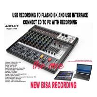 mixer audio ashley AX8N,USB,BLUETOOTH,MP3