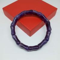 gelang hoki terapi giok ungu