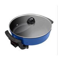 HAN RIVER Hot Pot Listrik Dua Sisi - Panci Shabu Sukiyaki Steambot