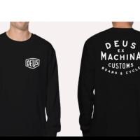 tshirt kaos lengan panjang Deus Ex Machina BIG SIZE 3XL & 4XL