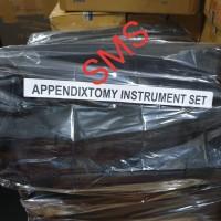 Appendixtomy Set Instrument/Appendixtomi Instrumen Set