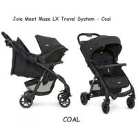 Stroller Joie Muze TS Stroler Bayi + Carseat Kereta Dorong Car Seat