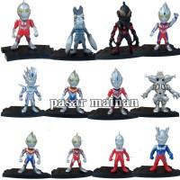 Figure Ultraman Chibi 12 karakter