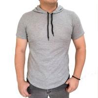 hoodie soft grey