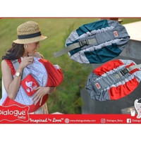 Gendongan Bayi Gendongan Samping Wrap DUMBO SERIES Dialogue DGG4313 - Merah
